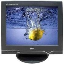 Monitor Lg Crt 15 Flatron T530sak Black