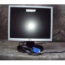 Monitor Lcd Lg 15pl Flatron L1553s Com Defeito