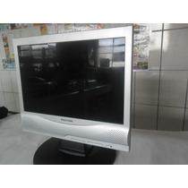 Monitor Lcd Modelo Lcm 1410w Positivo Completo Veja 140,00