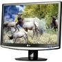Monitor Lcd 17 - Lg Flatron W1752t Semi Novo 1 Ano De Garant
