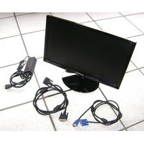 Monitor Led Widescreen S19a300b Samsung C/ Cabos Dvi Vga