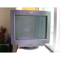 Monitor Crt 22 Ibm Ótimo Pra Jogos Com Alto Hz Até 160