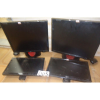 Lote 4 Monitores Lcd Samsung Lg Philips Lote 005