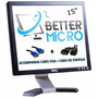 Monitor Lcd Dell 15 Polegadas C/ Garantia * Acompanha Cabos