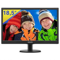Monitor Philips Led 18,5 Smartcontrol Lite - 193v5lsb23