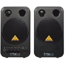 Ms16 Monitor Behringer Ativo Par Ms-16 Woofer 16w
