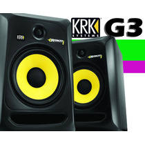 Monitor - Krk Rokit Powered 8 G3 Monitor Ativo Rp8 Rp 8 Par