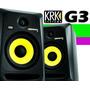 Monitor Ativo Krk Rokit Pr6 Geração 3 - Par/novo E Na Caixa
