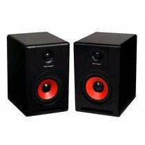 Ikey Par De Monitor Studio Bi Amplificado M-505v2 Bivolt