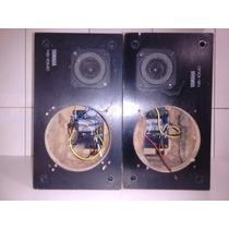 Par De Caixas Monitores Yamaha Ns-10mc P/ Peças / Reparo!!!