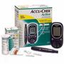 Kit Monitor De Glicemia Accu Chek Active+caneta+lanceta+tira
