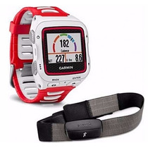 Relógio Gps Garmin Forerunner 920xt Cinta Cardiaca Brnc/verm