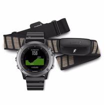 Relógio Gps Garmin Fenix 3 Safira Sapphire C/ Frequencimetro