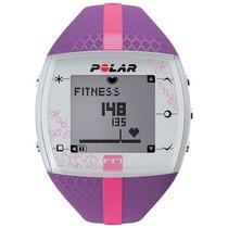 Frequencímetro Relógio Monitor Cardíaco Polar Ft7 Lilás Rosa