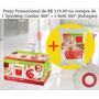 Promoção Spin Mop Esfregão 360º Condor + Refil
