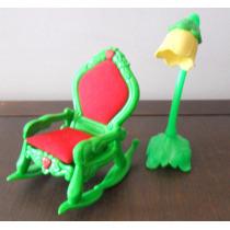 Cadeira De Balanço + Luminária Moranguinho - Estrela