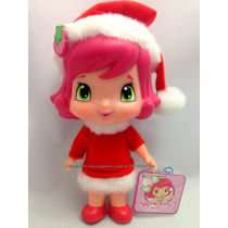 Boneca Moranguinho Baby Mamãe Noel Natal Original Multibrink