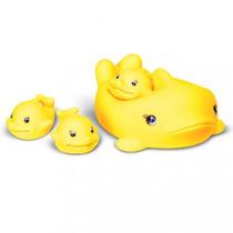 Bichinhos Do Banho Mamãe Baleia Brinquedos Anjo Frete Grátis