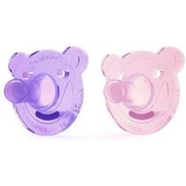 Chupeta Philips Avent Shape Pacifier, 0-3m Pink/purple