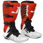 Bota Motocross Pro Tork Jett Enduro Trilha Vermelha E Branca