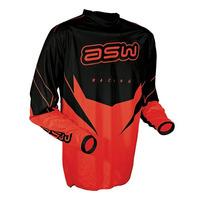 Camisa Asw Factory 14 Vermelha - G - Trilha Motocross Enduro
