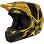 Capacete Fox V1 Rockstar Motocross, Motoqueiro, Moto