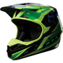 Capacete Fox V1 Race Verde Motocross, Motoqueiro, Moto
