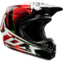Capacete Fox V1 Radeon Red Trilha Motocross A Sw - Pequeno