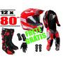Comprar Kit Motocross Protork (bota De Trilha Fox)