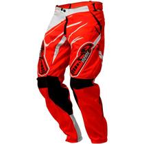 Calça Motocross Pro Tork Insane 3 Vermelho Roupa Para Trilha