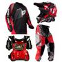 Kit Equipamento Pro Tork Insane Motocross Infantil Kids