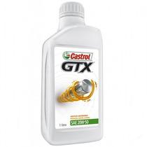Kit 3 Litros De Oleo Gtx 20w50 Anti Borra Castrol