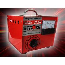 Carregador De Vaso 2 Volts 30ah/hora Com Amperímetro. Impact
