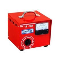 Carregador Bateria 10ah/12v C/amperimetro, Bivolt, Portátil.
