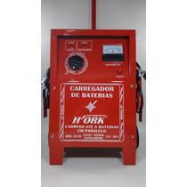 Carregador De Bateria Automotivo-12v-50 Amp P/ Carro Cb 50