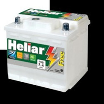 Bateria Heliar 52 Amperes - Livre De Manutenção