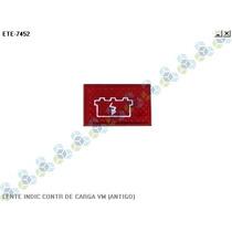 Lente Painel Indicador Controle De Carga Da Bateria Vermelho