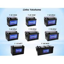 Bateria 45 Amperes Yokohama - Com Prata - Com Visor