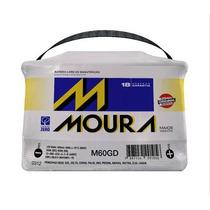Bateria Moura 60ah Gd/ge Nova Moura Com 18 Mese