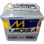 Bateria Moura 48ah Modelo M48fd Para Fiesta, Ka E Outros