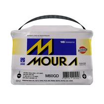 Bateria Moura 60ah M60gd 18 Meses De Garantia
