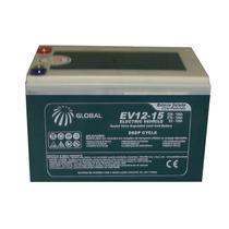Bateria Gel Global 15ah 12v - Motos E Carros Elétricos