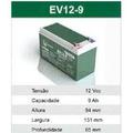 Bateria Selada Gel Global 12v 9ah Ciclo Profundo