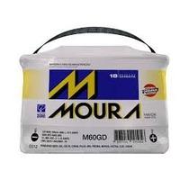 Bateria Moura De 12v 60ah Baterias De Carro