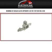 Bomba D´agua Alfa Spider 3.0i V6 12v Gs 96 A 98