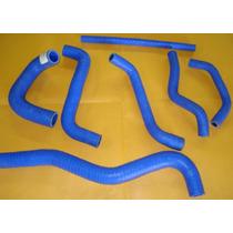 Mangueira Silicone P/ Água Gol Quadrado Motor Ap,s C/ 7 Pçs