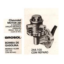 Bomba De Gasolina Veraneio 6 Cil. C-10 Motor 261 Brosol Nova