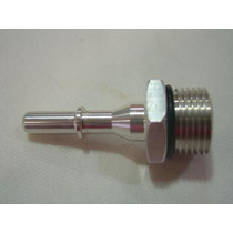 Niple Aluminio Filtro Combustivel Universal Engate Rapido