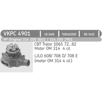 Bomba Agua Mb 608/708 - Om-314 - Vkpc-4901