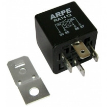 Rele Auxiliar 4 Terminais 12v 40 Amp C/suporte Novo 10 Peças